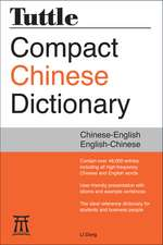 Tuttle Compact Chinese Dictionary: [Fully Romanized]