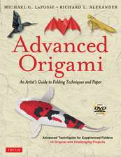 Advanced Origami: An Artist's Guide to Folding Techniques and Paper (includes New DVD)
