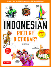 Indonesian Picture Dictionary