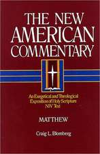 Matthew:  An Exegetical and Theological Exposition of Holy Scripture