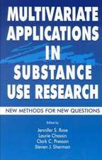 Multivariate Applications in Substance Use Research