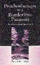 Psychotherapy W/Borderline Patient