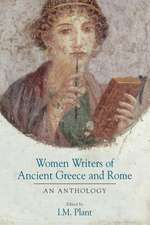 Women Writers of Ancient Greece and Rome