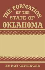 The Formation of the State of Oklahoma