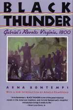 Black Thunder:  Virginia, 1800