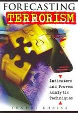 Forecasting Terrorism