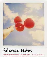 Polaroid Notes Notecards:  100 Artists Play a Collaborative Game
