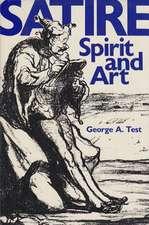 Satire:  Spirit & Art