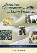 Bioactive Components in Milk and Dairy Products