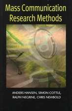Mass Communication Research Methods