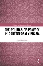 Politics of Poverty in Contemporary Russia