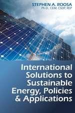 INTERNATIONAL SOLUTIONS TO SUSTAINA