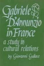 Gabriele D Annunzio in France