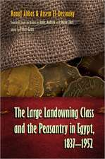 The Large Landowning Class and the Peasantry in Egypt, 1837-1952