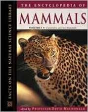 "The Encyclopedia of Mammals: """""
