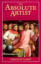 Absolute Artist: The Historiography of a Concept