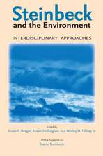 Steinbeck and the Environment: Interdisciplinary Approaches
