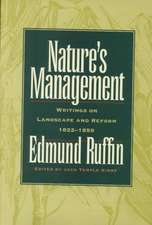 Ruffin, E:  Nature's Management