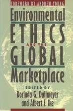 ENVIRONMENTAL ETHICS & THE GLO