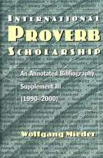 International Proverb Scholarship