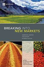 Breaking Into New Markets:  Emerging Lessons for Export Diversification