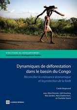 Dynamiques de Deforestation Dans le Bassin Du Congo:  Reconcilier la Croissance Economique Et la Protection de la Foret