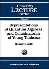 Representations of Quantum Algebras and Combinatorics of Yo