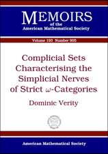 Verity, D:  Complicial Sets Characterising the Simplicial Ne
