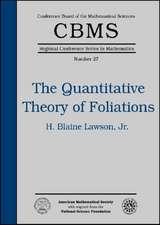 The Quantitative Theory of Foliations