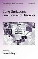 Lung Surfactant Function and Disorder