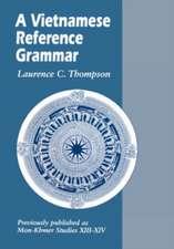 A Vietnamese Reference Grammar