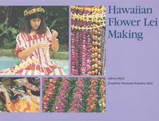 Hawaiian Flower Lei Making