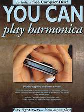 You Can Play Harmonica [With CD]