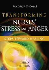 Transforming Nurses' Stress and Anger:  Steps Toward Healing