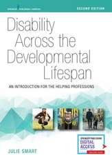 Disability Across the Developmental Lifespan