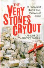Very Stones Cry Out:  Pain, Passion and Praise