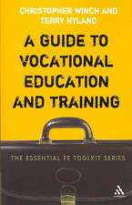 A Guide to Vocational Education and Training