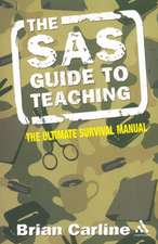 The SAS Guide to Teaching