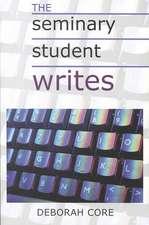 The Seminary Student Writes