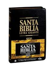 NVI Santa Biblia letra gigante con índice