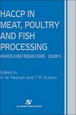 HACCP in Meat, Poultry and Fish Processing