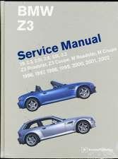 BMW Z3 Service Manual:  1.9, 2.3, 2.5i, 2.8, 3.0i, 3.2 - Z3 Roadster, Z3 Coupe, M Roadster, M Coupe