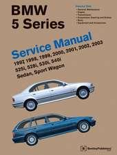 BMW 5 Series 2 Vol (E39 Service Manual:  525i, 528i, 530i, 540i, Sedan, Sport Wagon