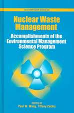 Nuclear Waste Management: Accomplishments of the Environmental Management Science Program