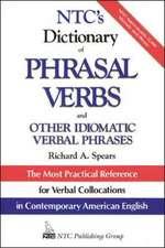 NTC's Dictionary of Phrasal Verbs