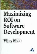 Maximizing Roi on Software Development