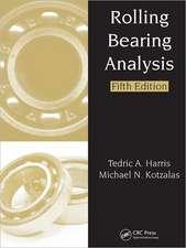 Rolling Bearing Analysis, Fifth Edition - 2 Volume Set