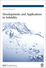 Developments and Applications in Solubility:  Rsc
