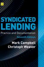 Syndicated Lending 7th edition