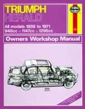 Triumph Herald Owners Workshop Manual